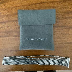 David Yurman small box chain bracelet